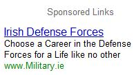 Irish Defence Forces Jobs