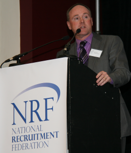 Frank Collins at National Recruitment Federation Conference 2011