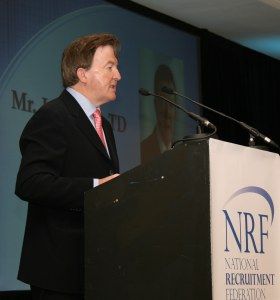 Mr John Perry TD at National Recruitment Federation Conference 2011
